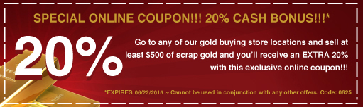 Online Coupon at Gold Standard